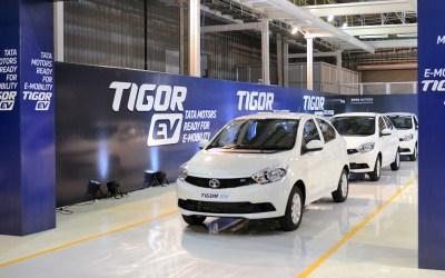 Green cars: Tata Motors delivers 1st batch of Tigor EVs (electric vehicles)