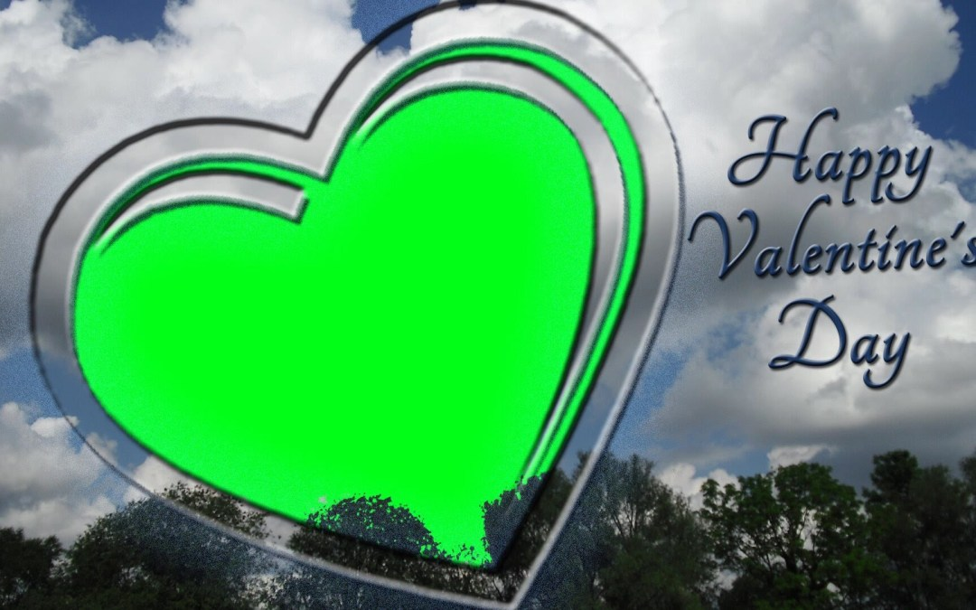Go green this Valentine's Day: Upload photos with #spreadthelove