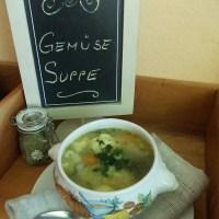 bunte Gemüsesuppe / ein veganer Klassiker!