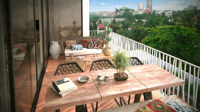 Balcony | Green Views