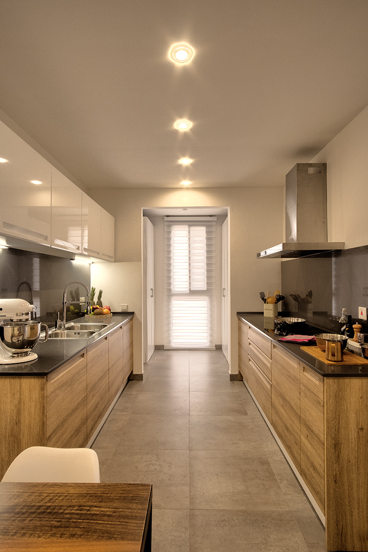 Wide Kitchen | Green Views