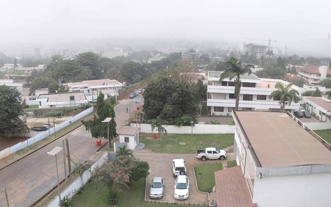 Harmattan in Ghana