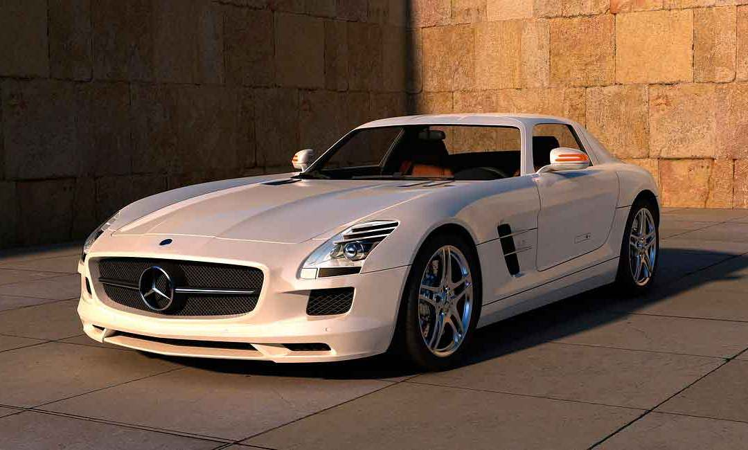 Luxury car