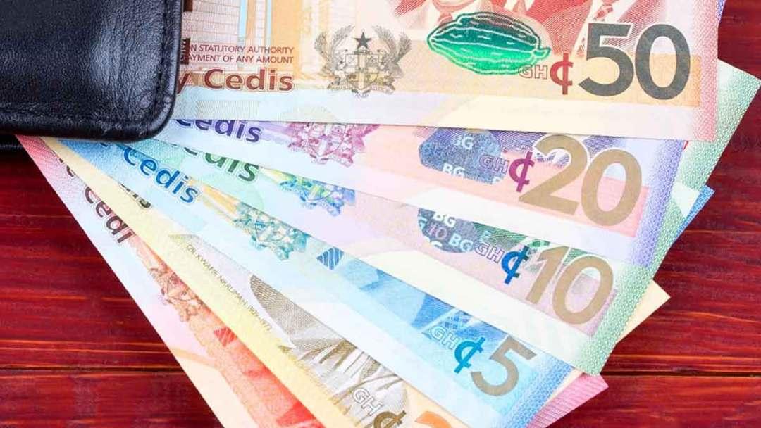 Cedi money