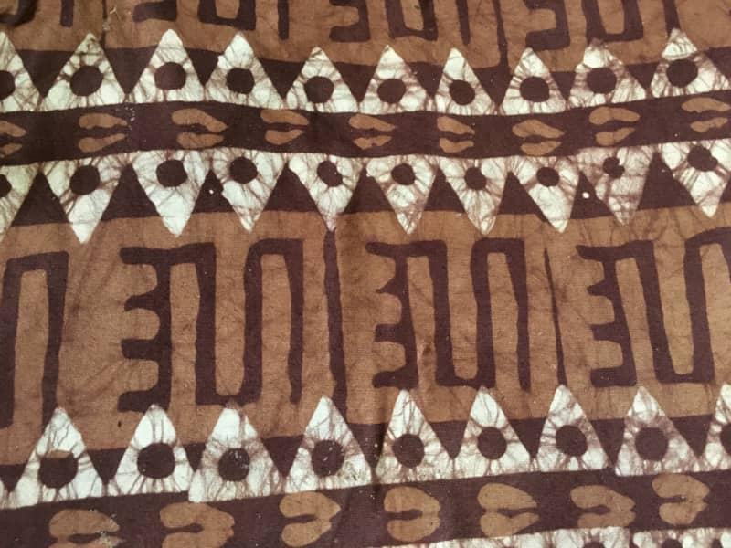 The art of batik making in Ghana