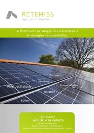 actemiss bureau d etudes photovoltaique