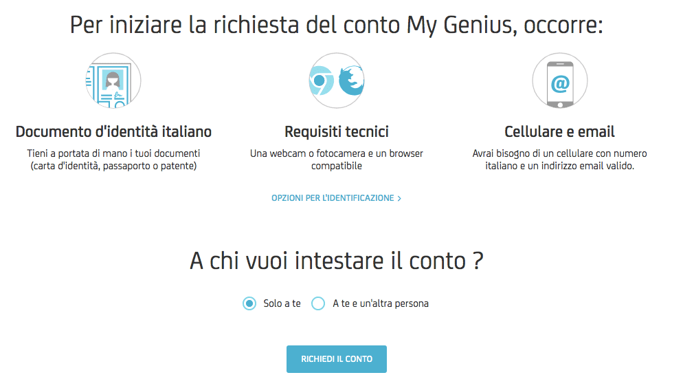 Conto Corrente Unicredit My Genius Greenwalletit