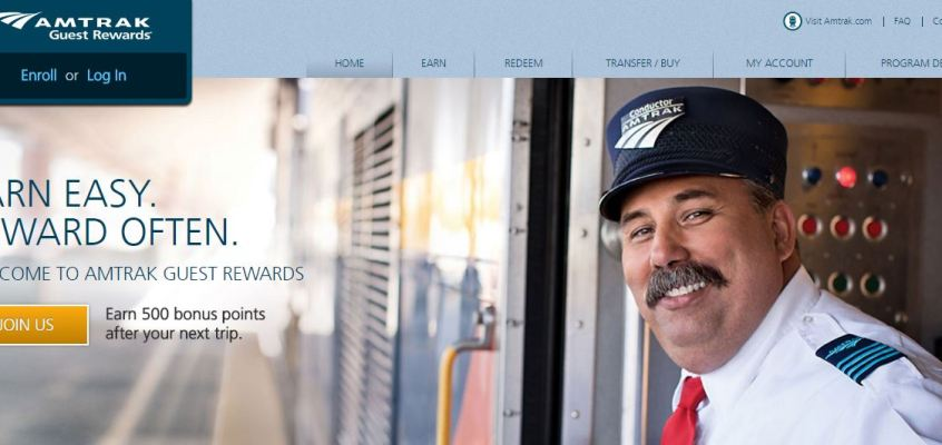 Amtrak Updates Rewards Program