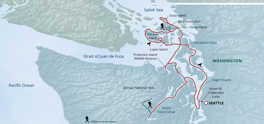 Uncover the San Juan Islands on a Small Ship Adventure Cruise