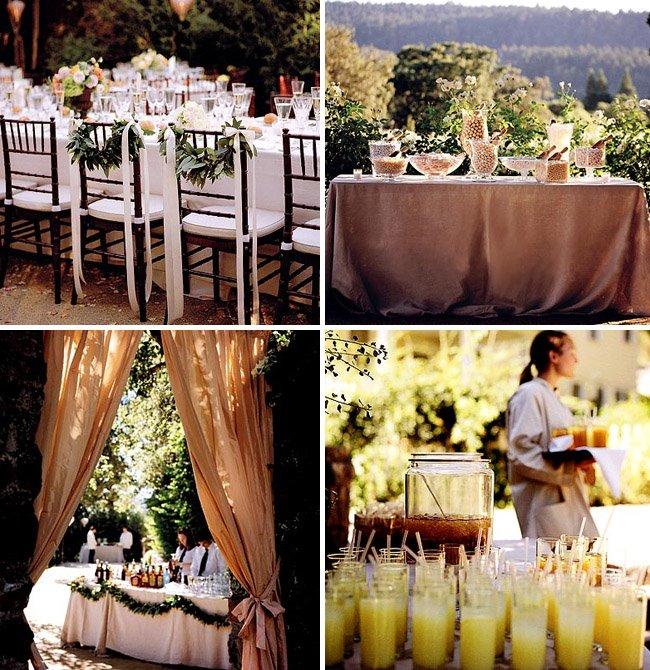 How to Throw a Backyard Wedding: The Food + Table Decor on Backyard Table Decor id=70459