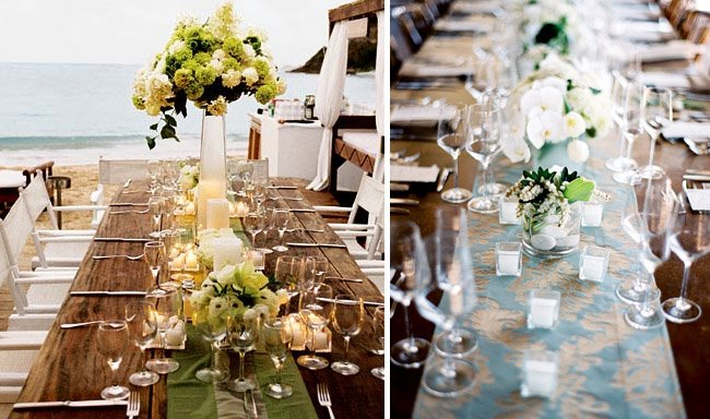 How to Throw a Backyard Wedding: The Food + Table Decor ... on Backyard Table Decor id=94130