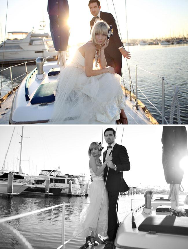 Whitney Drew Nautical Day After Wedding Photos