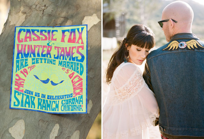70s Inspired Wedding Reception Shoot