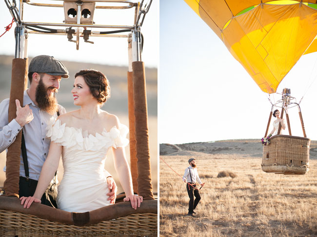 Hot Air Balloon Day After Shoot Michelle John Green