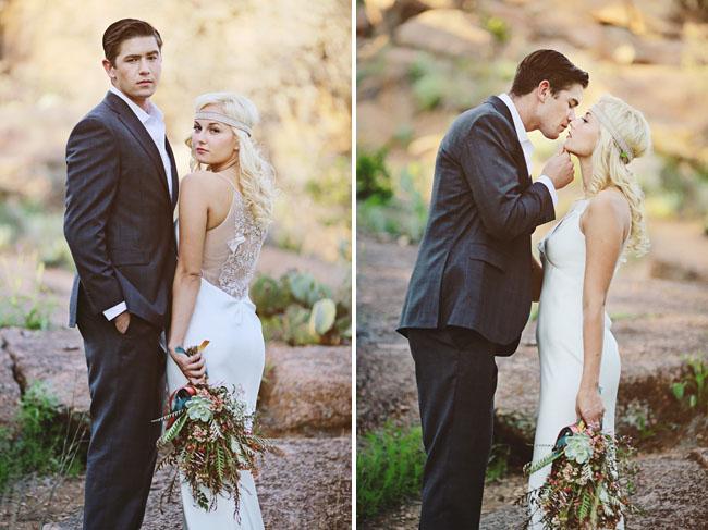Mid Century Desert Wedding Inspiration
