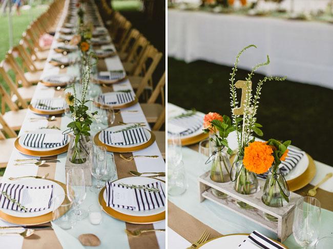 Black White And Orange Wedding Decorations Home Decor 2017