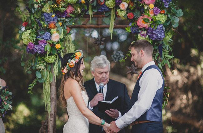 Rustic Santa Fe Inspired Wedding Laura Jon