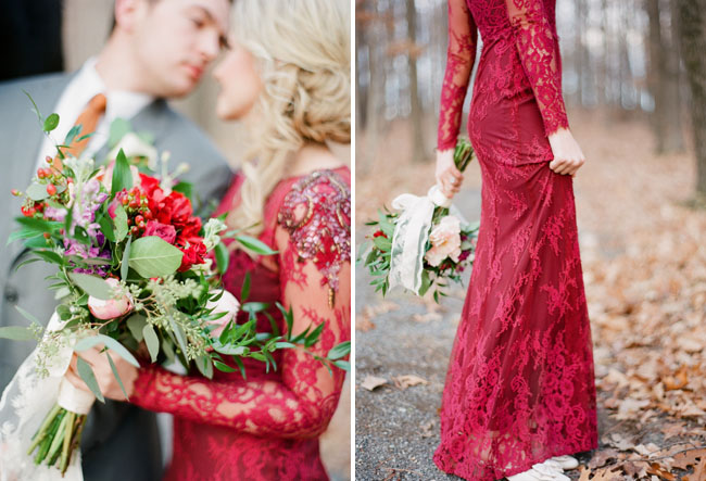 Valentines Day Elopement Inspiration Green Wedding Shoes