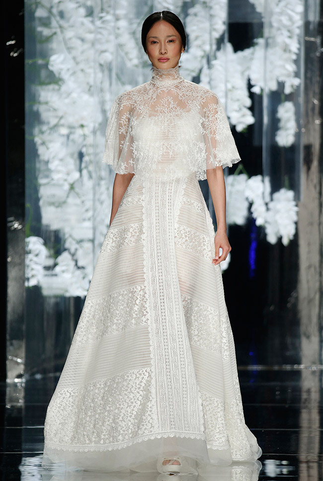 Favorite Wedding Dresses From Barcelona Bridal Week
