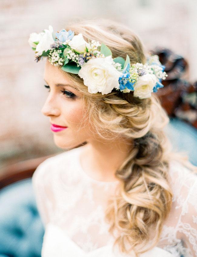 French Blue Amp Lavender Wedding Inspiration Green Wedding
