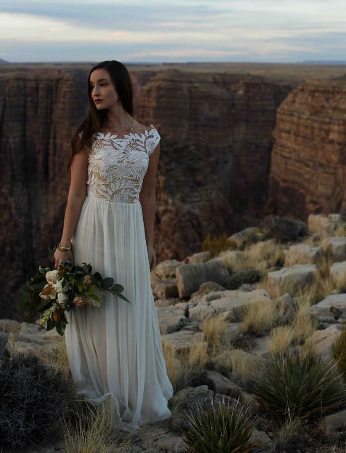 Chantel Lauren Wedding Dress