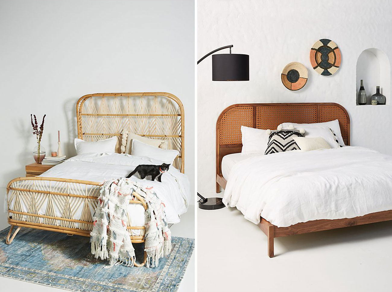 These Boho Headboards Will Give Your Entire Bedroom a New ... on Modern Boho Bed Frame  id=60697