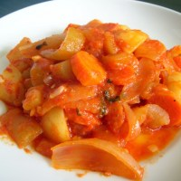 "Pasta with Cucuzza ""Gagootz"""