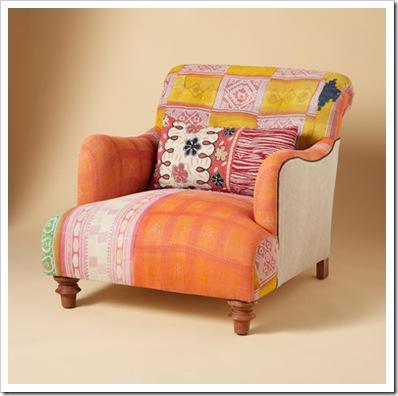 sundance chair orange