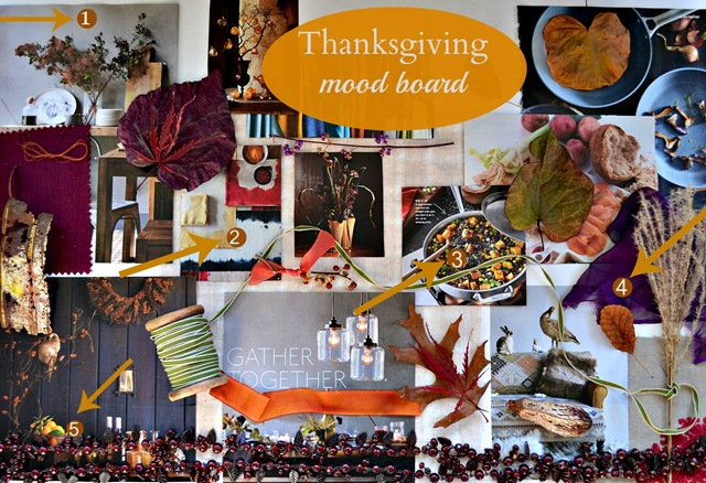moodboard for Thanksgiving Inspiration