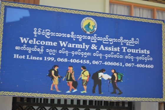 burma early welcomes tourists 3 days in Yangon
