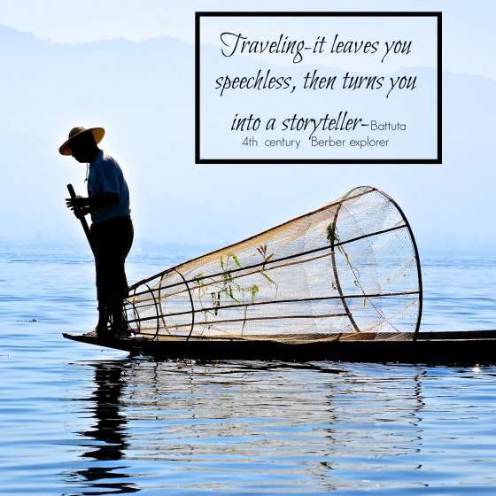 a thought for travel thursday inle lake myanmar fisherman