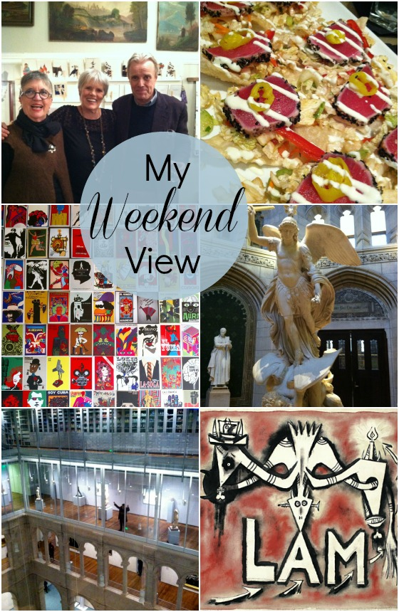my weekend view in Boston