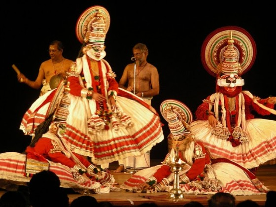 kerala dance performance