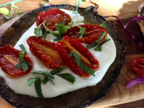 eggplant feta tomatoes