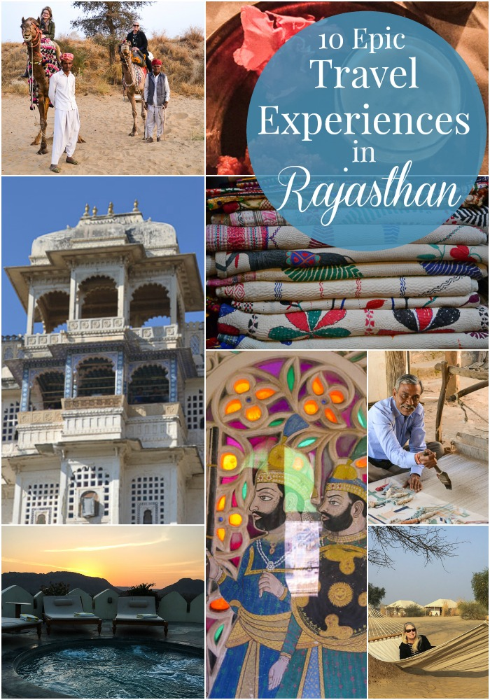 Amazing experiences in rajasthan