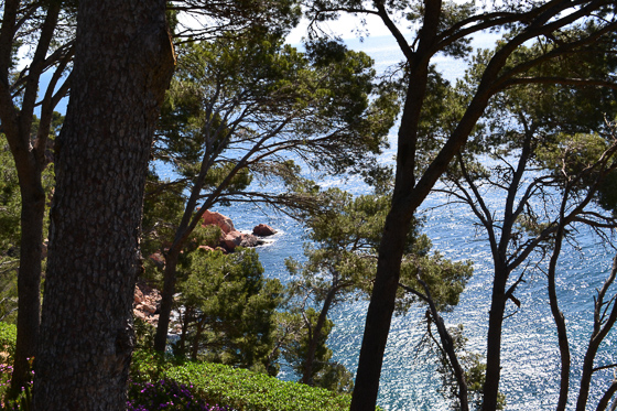 hiking in Costa Brava along the coastal trails