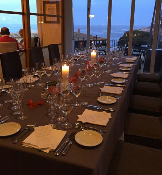 Dining at Hotel Aigua Blava