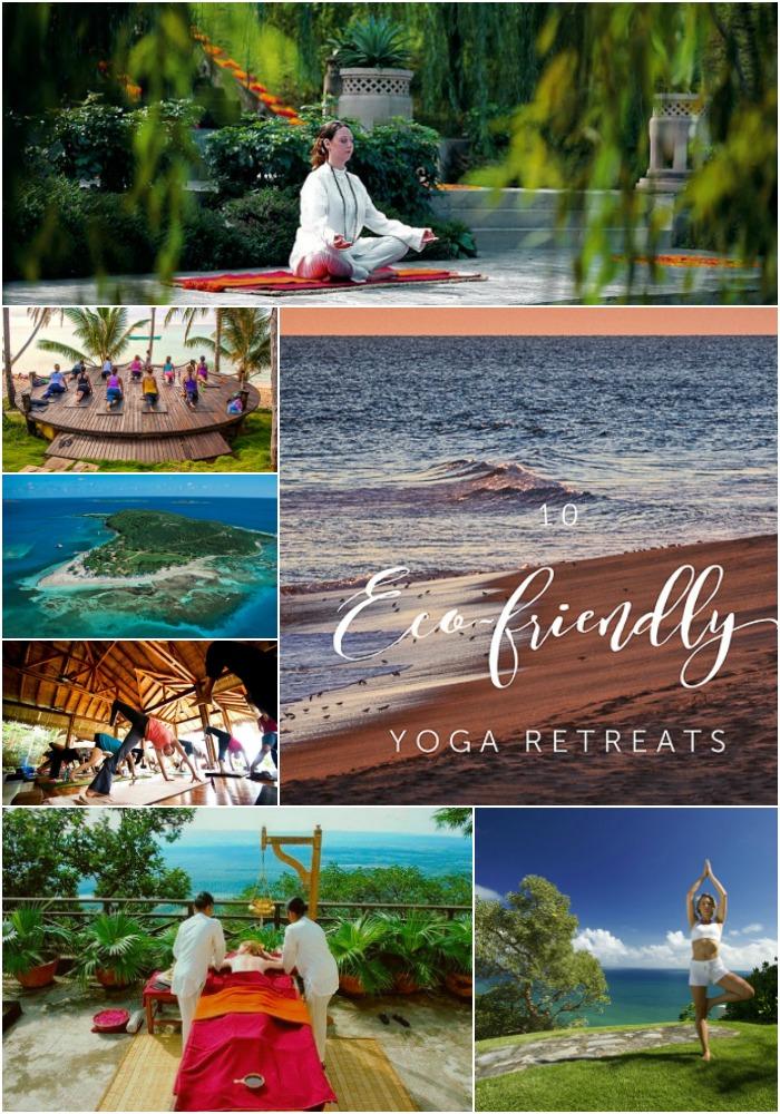 Pinterest 10 Eco friendly yoga retreats