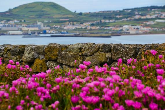 Wellness Travel the Azores, Terceira-Praia da Vitória lookout point-Pico do Facho