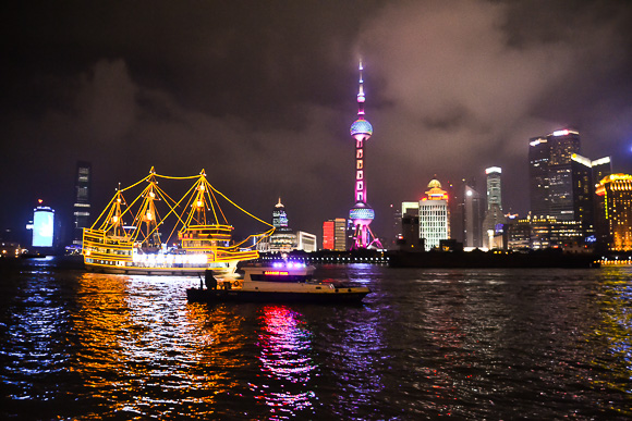 Night stroll on The Bund