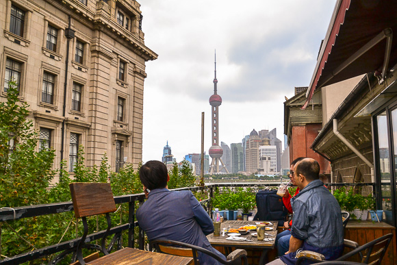 Cafe culture in Sanghai