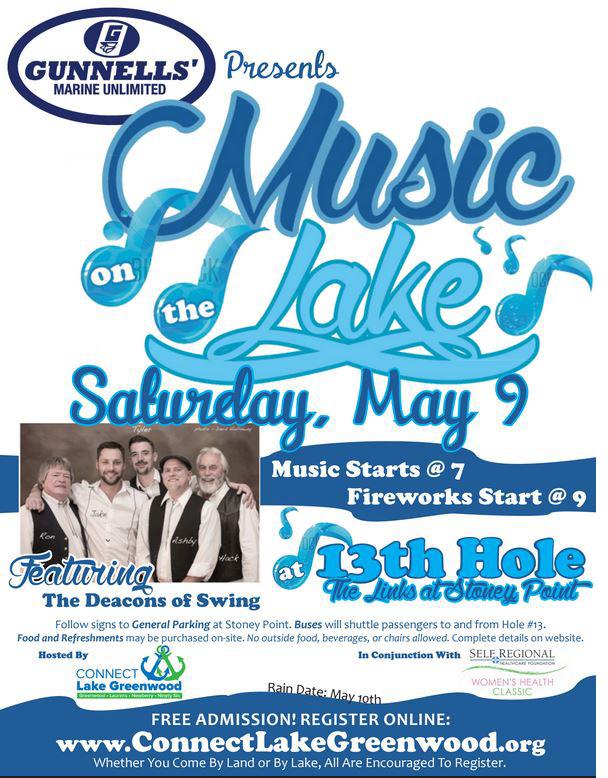 mayMusic on lake