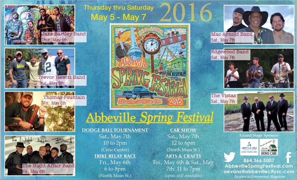 Abbeville Spring Festival