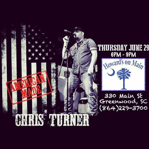 Don't Miss Chris Turner