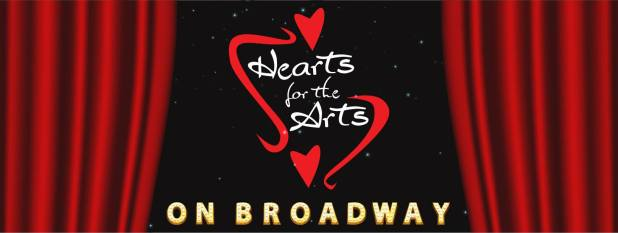 Hearts for the Arts on Broadway!