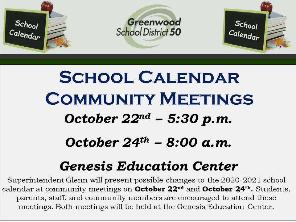 Greenville County Schools Calendar 2022 2023.Major Change Proposed To District 50 School Calendar Greenwood Calendar