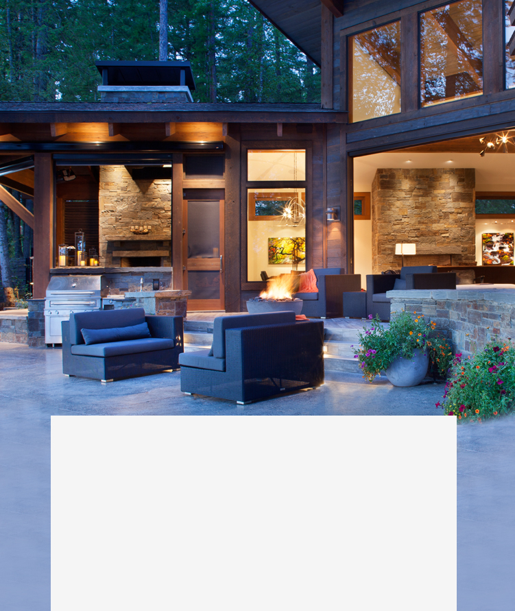 outdoor living masonry