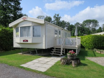 Thirkleby Hall Hire Caravan