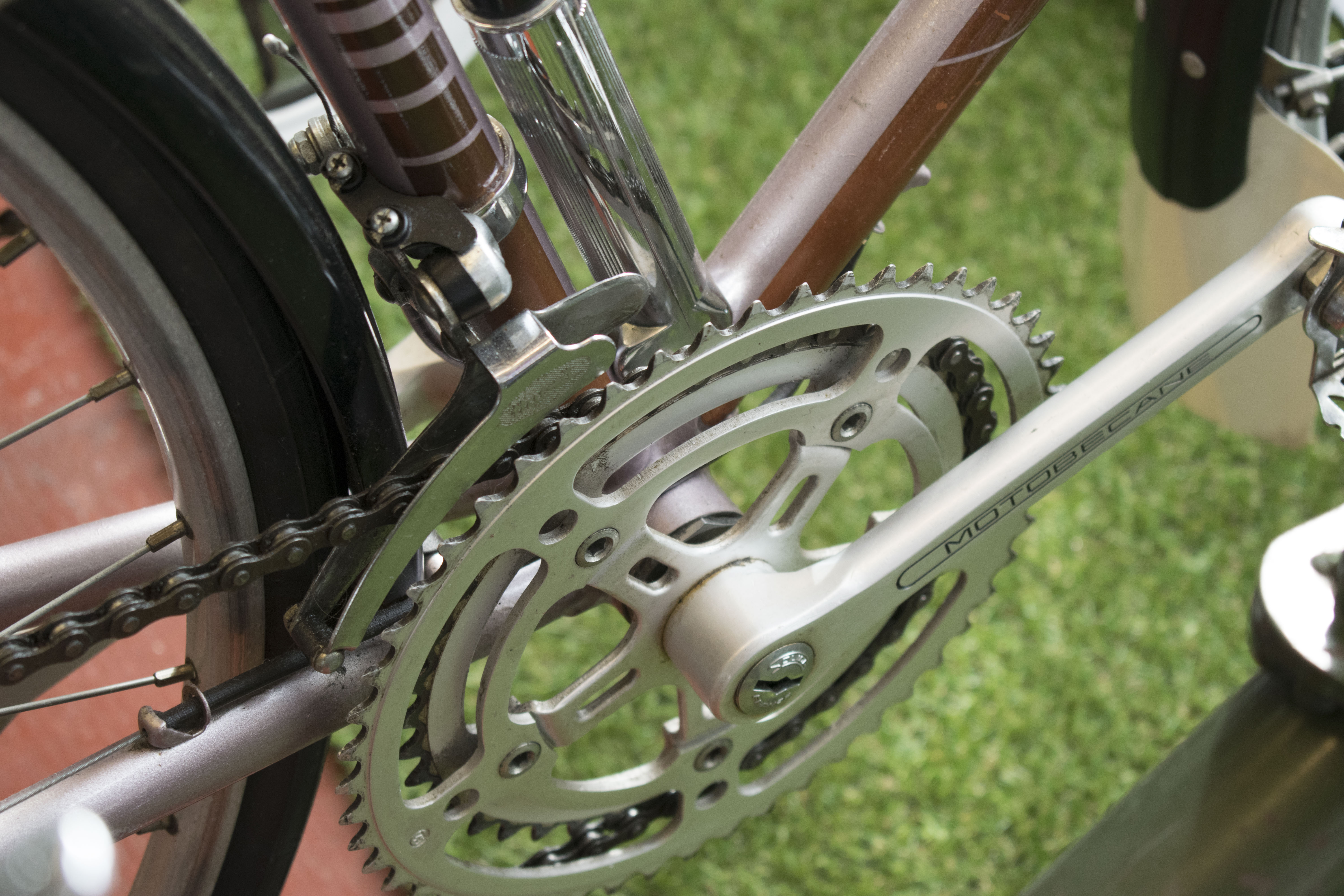 Bicycle gear wheel