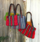 group of tote bags